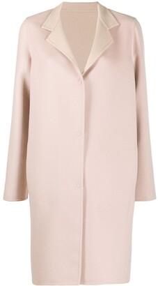 Manzoni 24 Single-Breasted Midi Coat