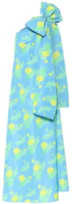 BERNADETTE Winnie floral taffeta maxi dress