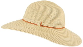 Accessorize Stripe Edge Floppy Hat - Multi