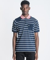 Luke 1977 Albarn Stripe Polo Shirt