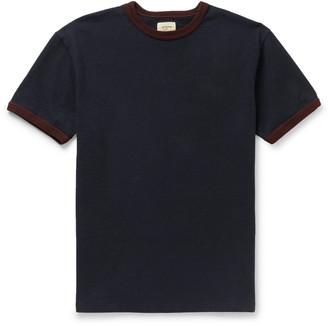 Bellerose Vlin Contrast-Trimmed Cotton-Jersey T-Shirt