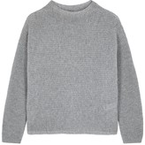 Eileen Fisher Grey chunky-knit cashmere jumper