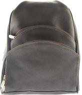 Piel Leather Three Pocket Sling Bag 7776
