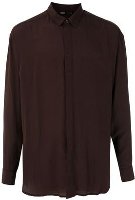 Handred Silk Long Sleeves Shirt