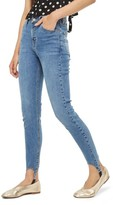 Topshop Women's Jamie High Rise Skinny Stirrup Jeans