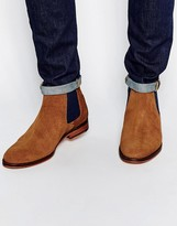 Ted Baker Camroon Suede Chelsea Boots - Brown