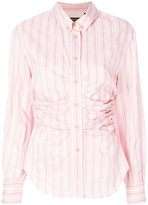 Isabel Marant striped fitted shirt