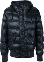 Dolce & Gabbana padded coat - men - Calf Leather/Feather Down/Nylon/Zamak - 46