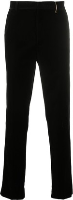 Rochas Velvet Straight Leg Trousers