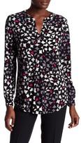 Anne Klein Print Jersey Tunic