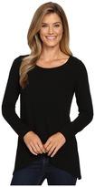 Karen Kane Long Sleeve Asymmetrical Hem Top