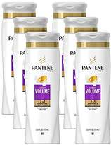 Pantene Sheer Volume 2 in 1 Shampoo & Conditioner, 12.6 fl oz (Pack of 6) (Packaging May Vary)
