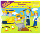 NEW Felt Creations Construction Story Board