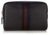 Paul Smith Web-panel grained-leather washbag