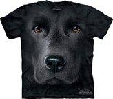 The Mountain Men's Black Lab Face T-shirt