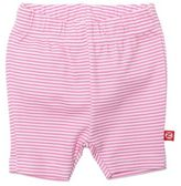 Zutano Size 12M Candy Stripe Bike Short in Pink/White