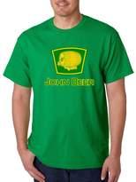 VISHTEA John Beer Funny Irish Day Drinking T-shirt Proud Irish Shamrock Shirts Irish Green 1082