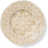 Vietri Lace Natural Salad Plate