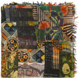 Faliero Sarti patchwork scarf