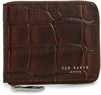 Ted Baker Shoppa Leather Zip Wallet
