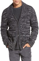Vince Men's Yak & Wool Zip Cardigan