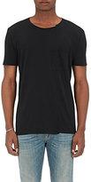 Nudie Jeans Men's Cotton T-Shirt-BLACK