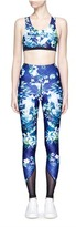We Are Handsome 'The Dalliance' print mesh trim active leggings