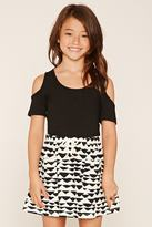 Forever 21 Girls Geo Print Skirt (Kids)