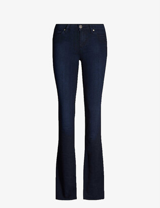 Paige Manhattan high rise bootcut jeans