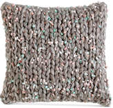 "DKNY Mode Knit 16"" Square Decorative Pillow"