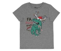 Epic Threads Toddler Boys Short Sleeve Holiday Dino Graphic T-shirt