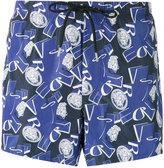 Versace Medusa logo print swim shorts