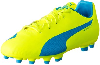 Puma evoSPEED 5.4 Artificial Ground Jr Unisex Kids' Football Training Shoes