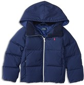 Ralph Lauren Girls' Hooded Puffer Jacket - Sizes 2-6X