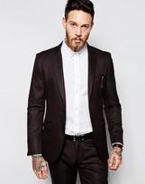 Sisley Suit Jacket In Slim Fit