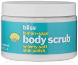 Bliss Lemon + Sage Body Scrub, 12.1 fl. oz.