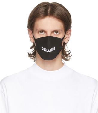 DSQUARED2 SSENSE Exclusive Three-Pack Black Masks