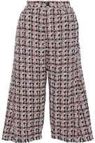 Sonia Rykiel Frayed Cotton-Blend Tweed Culottes