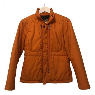 Dirk Bikkembergs Orange Polyester Coats