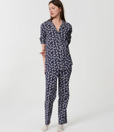 LOFT Butterfly Pajama Set