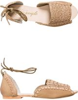 Free People Beaumont Woven Flat Sandal