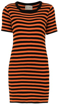 Andrea Bogosian striped slim dress