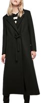 Gerard Darel Longline Trench Coat, Black
