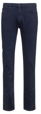 HUGO BOSS Slim-fit jeans in indigo stretch denim
