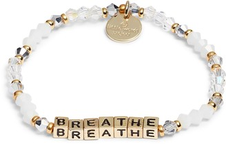 Breathe Beaded Stretch Bracelet