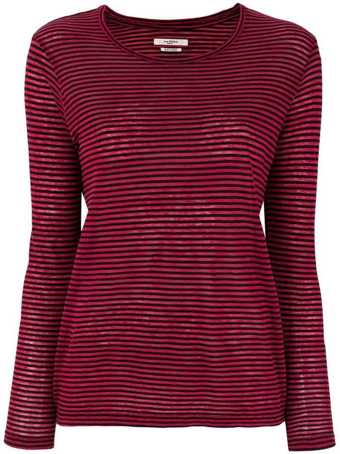 Etoile Isabel Marant striped long sleeve T-shirt