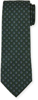Salvatore Ferragamo Men's 4 Mestre7J Patterned Tie