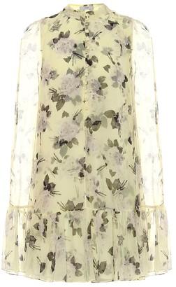 Erdem Constantine floral silk-voile minidress