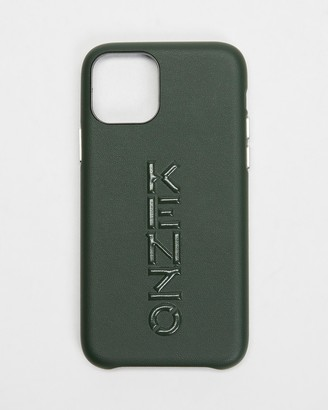Kenzo Green Phone Cases - iPhone 11 Pro Logo Vertical Case - Size One Size at The Iconic