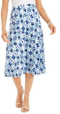 JM Collection Printed Midi Skirt, Created for Macy's